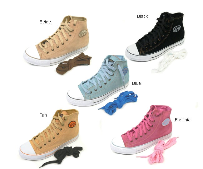 c8806511773 Shop Von Dutch Women's Retro Style Suede Hightop Shoes - Free Shipping On  Orders Over $45 - Overstock - 2252019