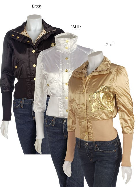 929025070527 Shop Baby Phat Satin Bomber Jacket - Free Shipping Today - Overstock ...
