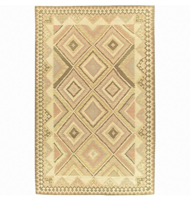 Nourison Hand-woven Mongol Kilim Multi Rug (8'6 x 11'6)