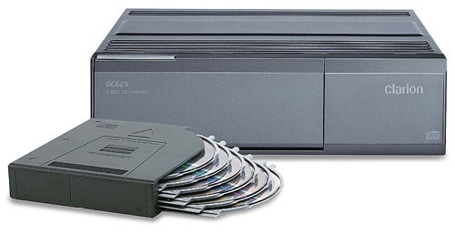 Clarion DC625 6-disc Car CD Changer