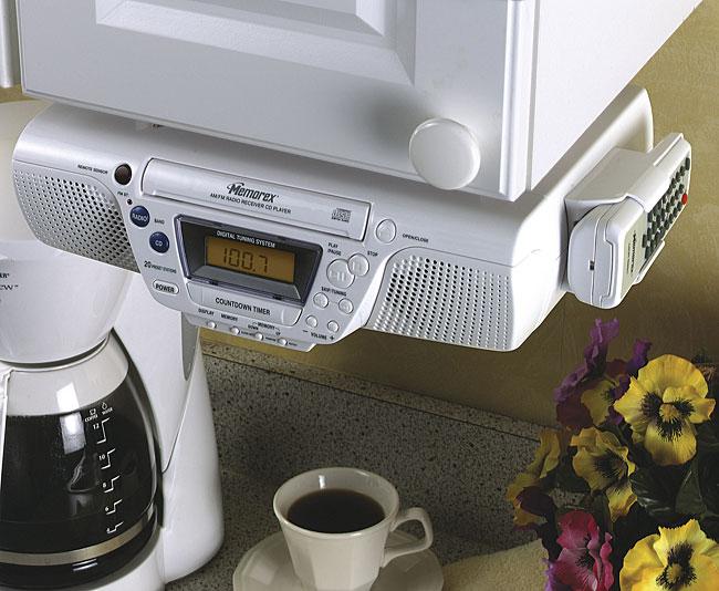 Memorex Mc3800 Under The Cabinet Cd Clock Radio Free