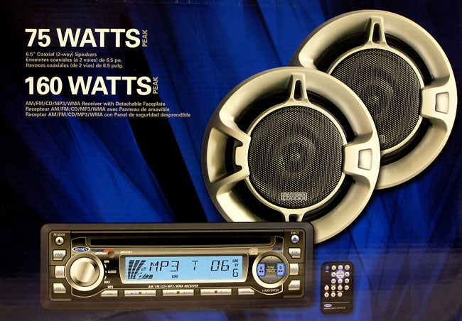 Jensen Combo Remote CD/MP3 and Speakers