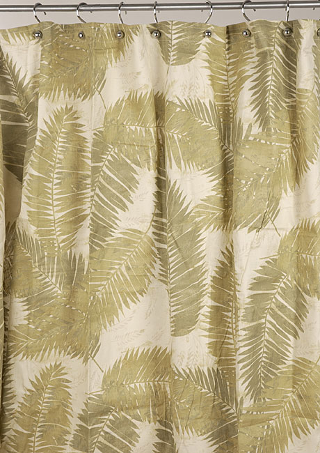 Avery Fern Print Shower Curtain Free Shipping On Orders