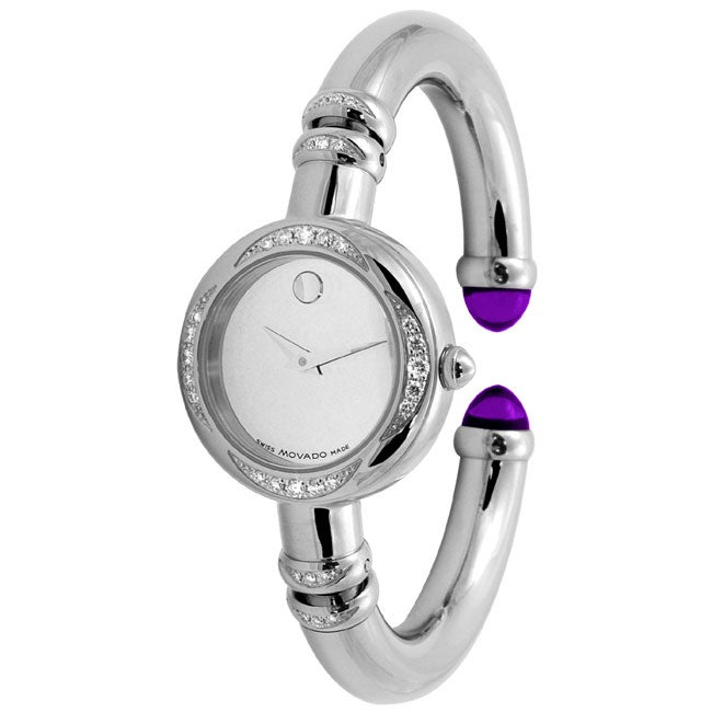 Movado Bareleto Women's Diamond Watch