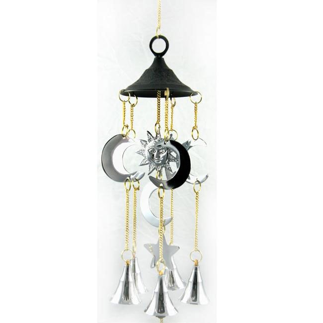 Handcrafted Brass Dome Chime (India)