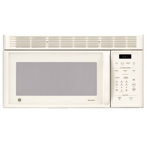 Ge Bisque Cream Spacemaker Over The Range Microwave Oven
