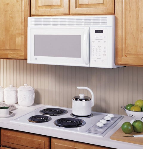 Ge White Spacemaker Over The Range Microwave Oven
