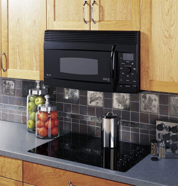 Countertop Advantium Oven : GE Black Over-the-Range Profile Microwave Oven (Refurbished) - Free ...