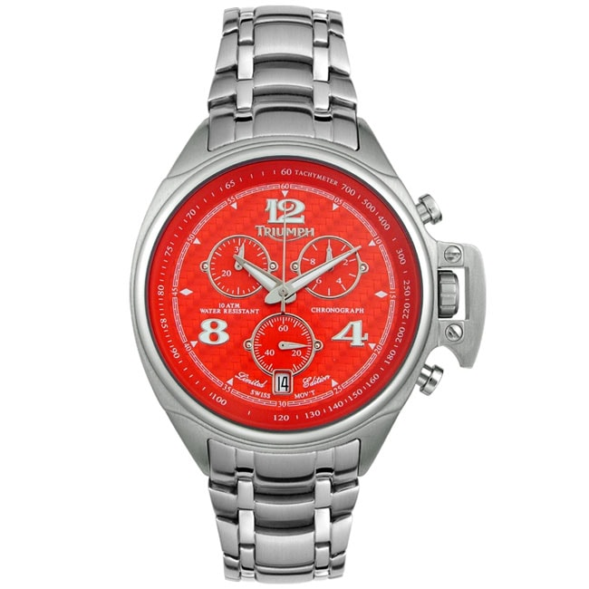 triumph limited edition chronograph watch - free shipping today