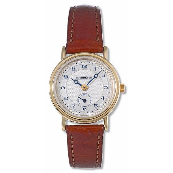 Hamilton Thinline Women's Goldtone Watch