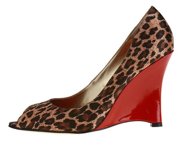 JLo Carleigh II Women's Peep Toe Wedge Sandals