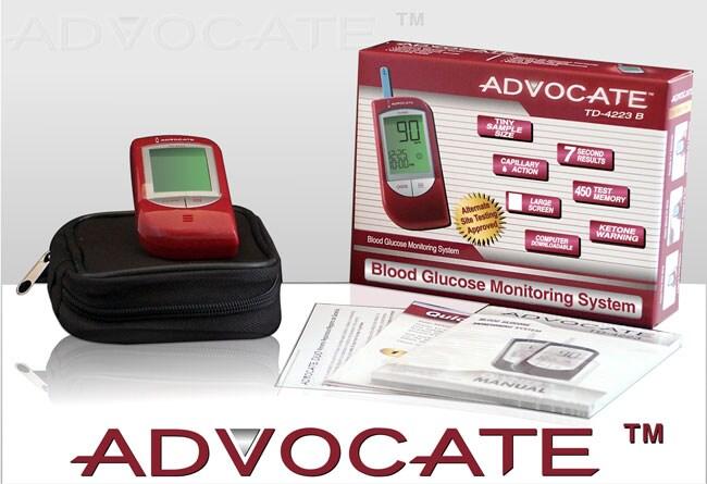 Free Blood Glucose Meter >> Shop Advocate Diabetic Blood Glucose Meter Free Shipping On Orders