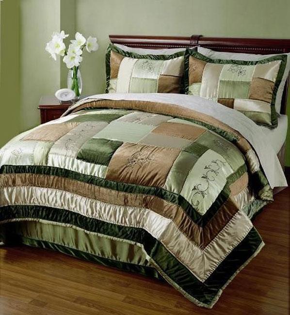 Marco Polo Comforter and Shams 3-piece Set