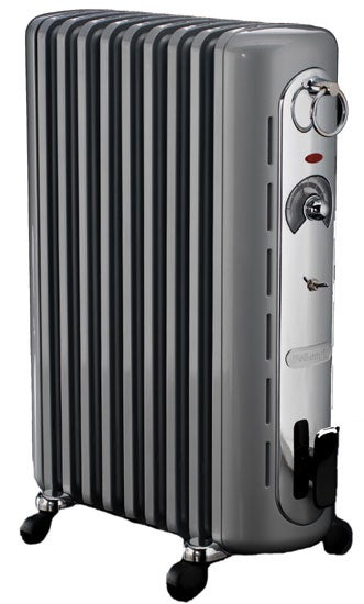 DeLonghi Retro Oil-filled Radiator Heater (Refurbished)