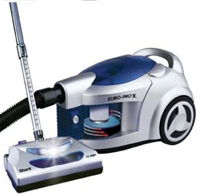 Shop Europro Shark Pursuit Hepa Bagless Canister Vacuum