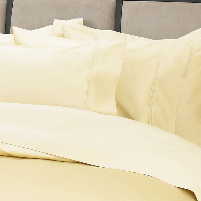 Hotel Collection 500 Thread Count Embroidered Butter Sheet Set
