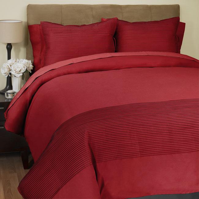 Raymond Waites 300tc Red Duvet Cover