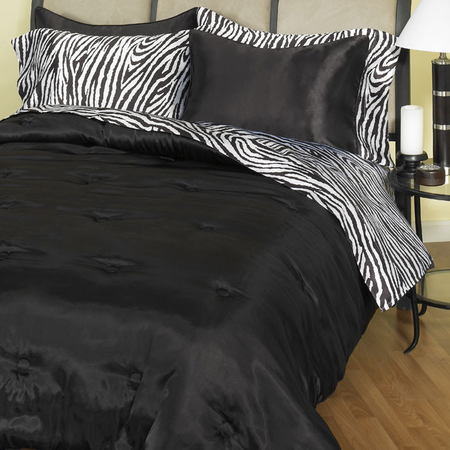 Keeco Luxury 310tc Satin Comforter Set