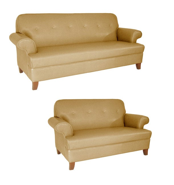 Shop Sand Color Sofa And Loveseat Set Free Shipping