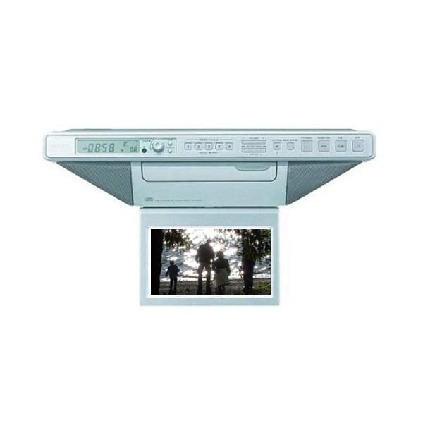 Radio For Kitchen Cabinet: Sony Under Cabinet 7-in. Kitchen TV Clock Radio