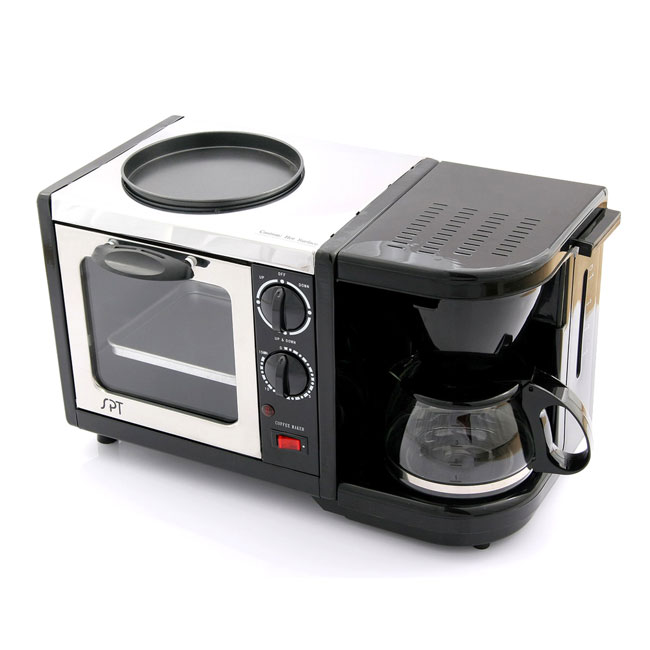 3-in-1 Toaster Oven/ Coffee Maker and Fry Pan