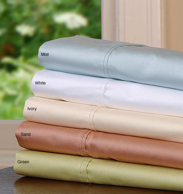 Luxury 600 Thread Count Solid Sateen Sheet Set