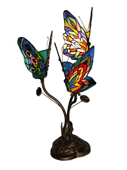 Tiffany Style 3 Way Butterfly Lamp Free Shipping Today