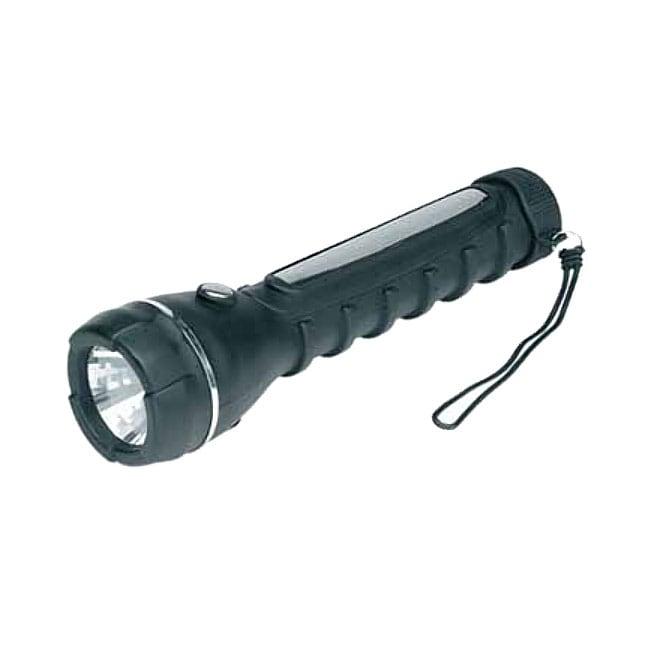 All-Weather Heavy-Duty Rubber Flashlight