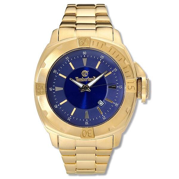 Timberland Jonesboro Men's Goldtone Watch