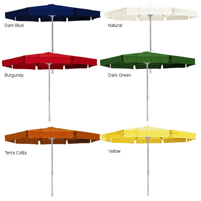 Crank U0026 Tilt Patio Umbrella With Flap