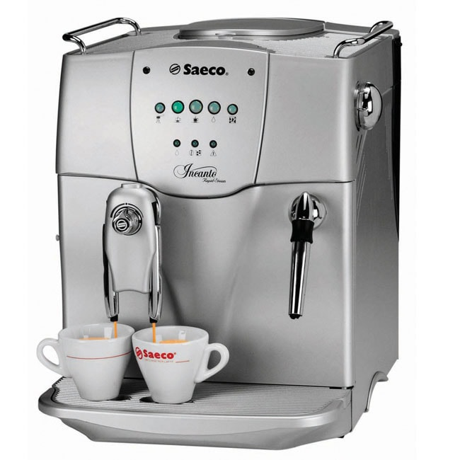Saeco usa incanto rs sbs coffee machine refurbished free shipping today - Cafetiere a grain saeco ...