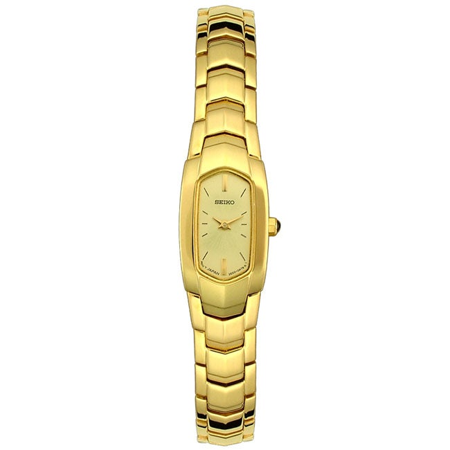 Seiko Women's Gold Dial Goldtone Bracelet Watch