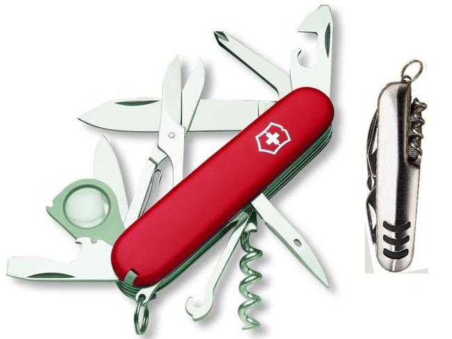 Swiss Army Explorer Knife w/Emblem Gift Box
