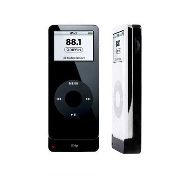 griffin itrip ipod nano fm transmitter free shipping on. Black Bedroom Furniture Sets. Home Design Ideas