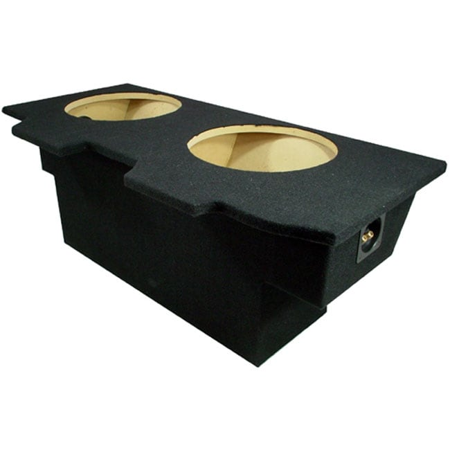 L on Pyle 12 Inch Dual Subwoofer Box
