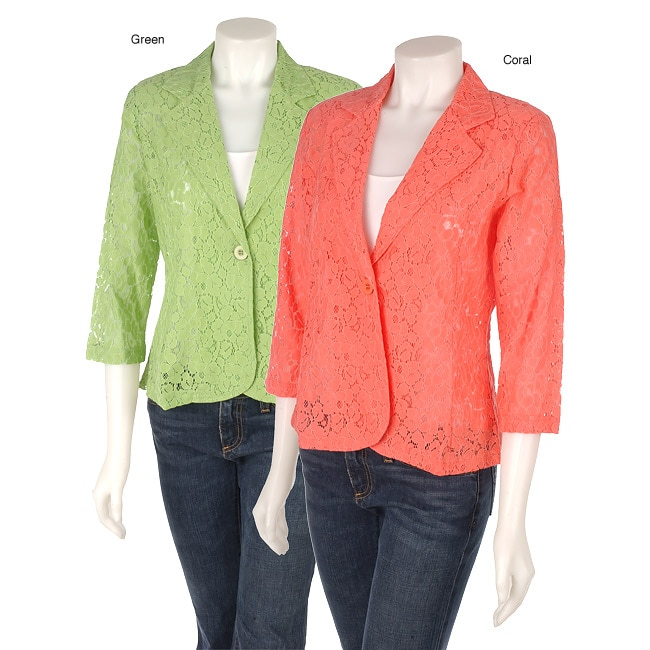 Erin London Knit Lace Jacket Free Shipping On Orders