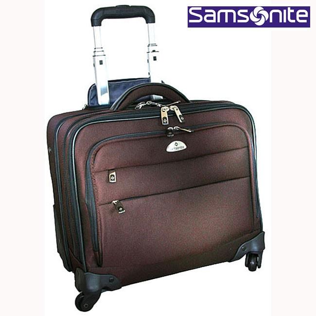 8483975a10b Shop Samsonite Nylon 4-wheel Spinner Overnighter Laptop Case - Free ...