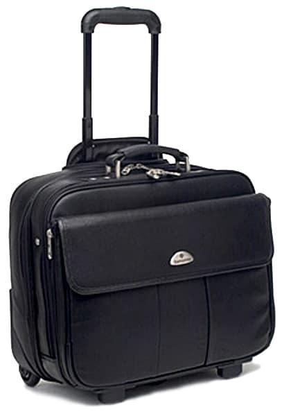 Samsonite Leather Wheeled Portfolio Case Free Shipping