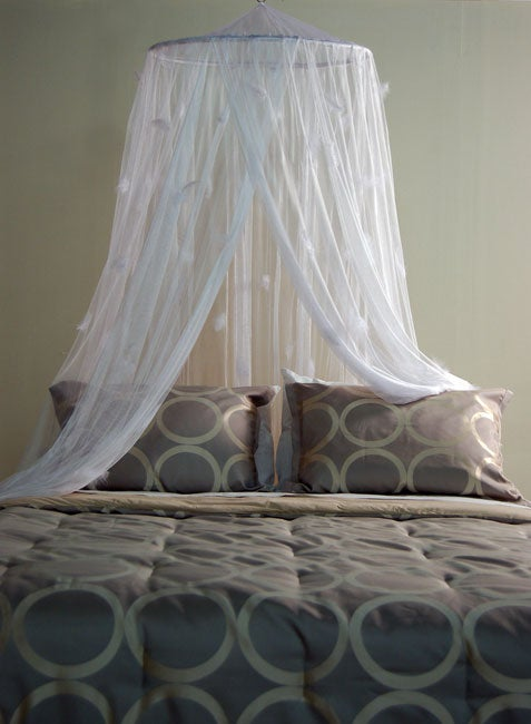 Feather Net Canopy & Feather Net Canopy - Free Shipping On Orders Over $45 - Overstock ...