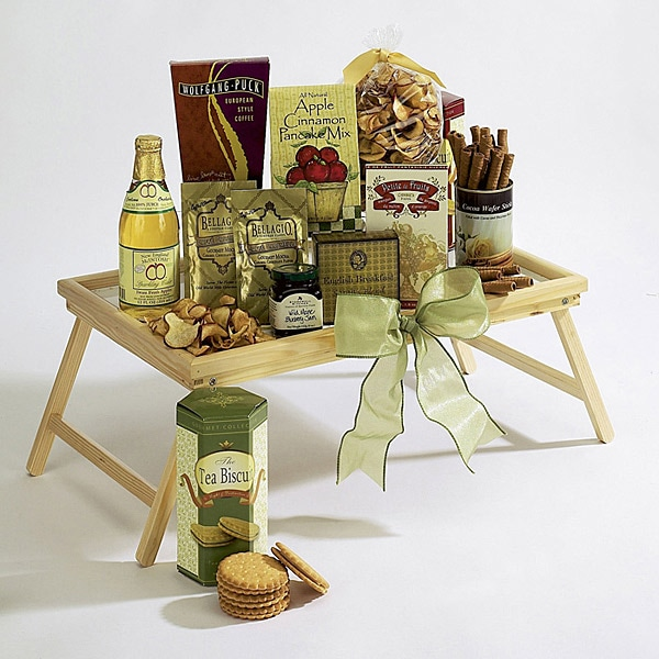Moms Breakfast-In-Bed Tray Gift Basket