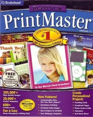 Printmaster platinum 18 install