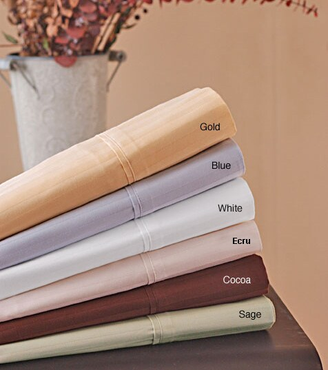 Sateen Stripe 320 Thread Count Sheet Set