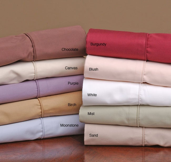 Sateen 500 Thread Count Pima Cotton Sheet Set