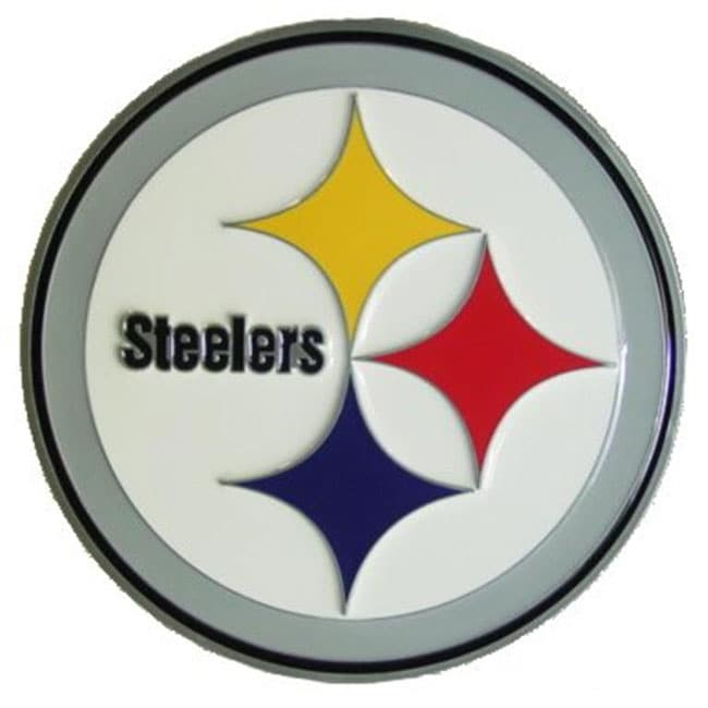 Shop Pittsburgh Steelers Logo Hitch Cover Free Shipping On Orders