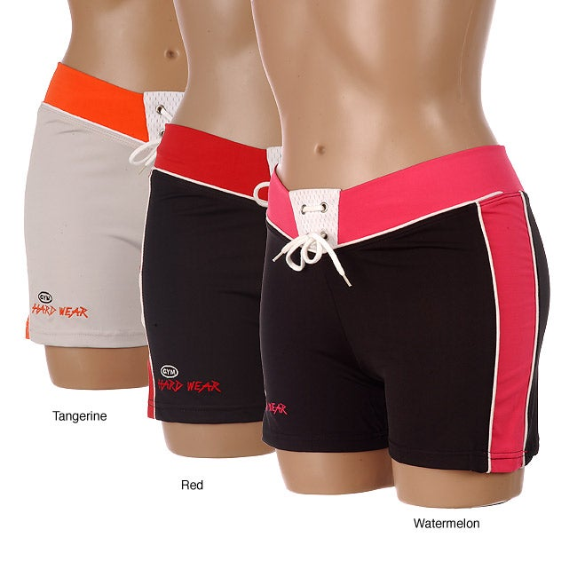 Gym Hard Wear Womens Fitted Shorts