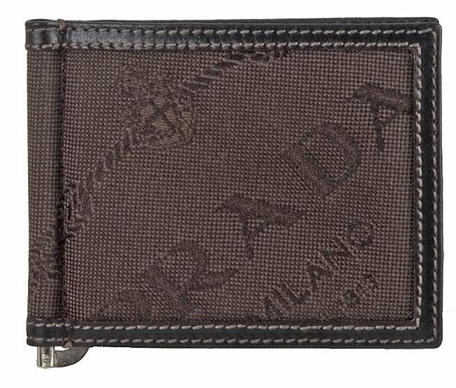 60a11579e90b Shop Prada Men's Logo Jacquard Bi-fold Money Clip Wallet - Free Shipping  Today - Overstock - 2435905