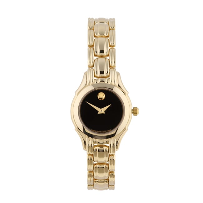 Shop Movado Collection 14k Gold Women S Watch Free Shipping Today
