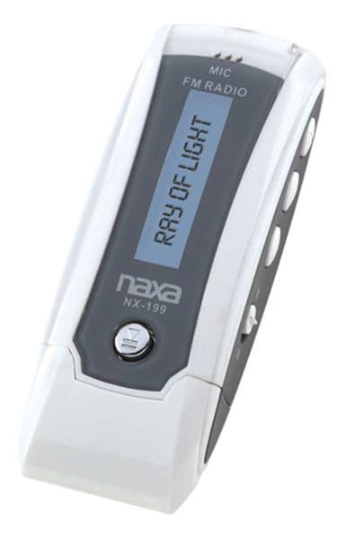 Naxa 1GB MP3 Player with FM Radio
