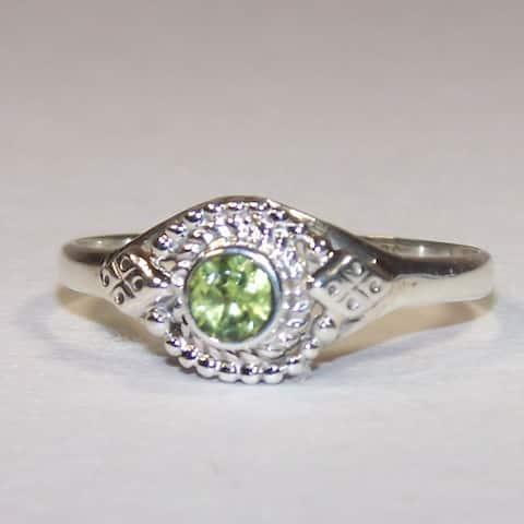 Handmade Peridot Ring (India)