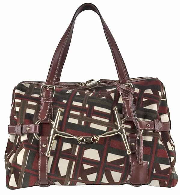 0530419ff444 Shop Gucci 85th Anniversary Printed Velvet Medium Boston Bag - Free  Shipping Today - Overstock - 2452616